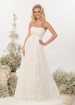 Прелестная невеста может подобрать походящее свадебное платье, не совершая бесконечных походов по свадебным салнам